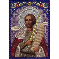 Вышивка термостразами Святой Александр Невский, Преобрана