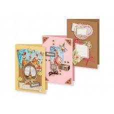 Набор для создания 3-х открыток Большое путешествие, Белоснежка