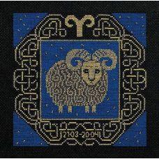 Набор для вышивания Овен, 25x25, Риолис, Сотвори сама
