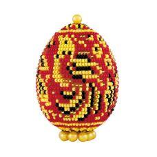 Набор для бисероплетения Яйцо. Хохлома, 6,5х5, Риолис