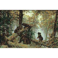 Набор для вышивания Утро в сосновом лесу. И. Шишкин, 38x26, Риолис, Сотвори сама