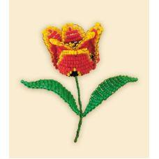 Набор для бисероплетения Тюльпан, 5,5х8, Риолис