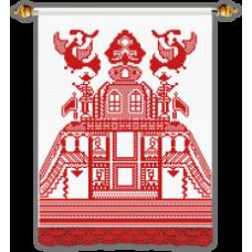 Набор для вышивания Рушник-усадьба, 140x40, Овен