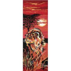 Набор для вышивания Царь зверей, 20х55, Овен