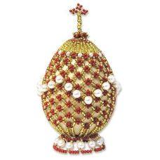 Набор для бисероплетения Яйцо Пасхальное-1, 6,5х5, Риолис