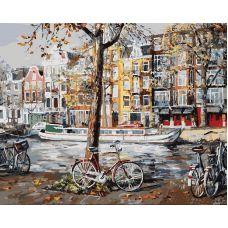 Раскраска Осенний Амстердам, 40x50, Белоснежка