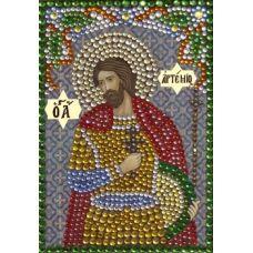 Вышивка термостразами Святой Артемий, Преобрана
