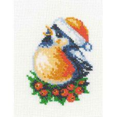 Набор для вышивания Снегирь, 13x16, Риолис Веселая пчёлка