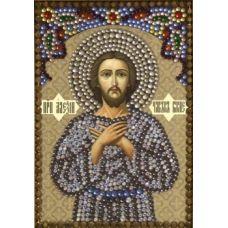 Вышивка термостразами Святой Алексий, человек божий, Преобрана