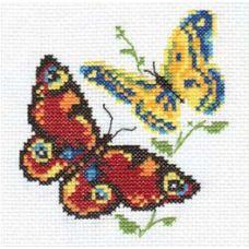 Вышивка Бабочки-красавицы, 10x11, Алиса