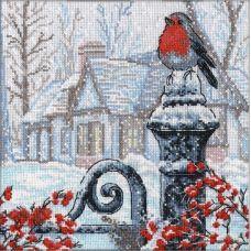 Набор для вышивания Рождественское утро, 25x25, Овен