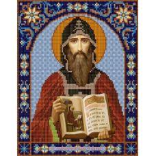 Ткань для вышивания бисером Святой Кирилл, 20х25, Конек