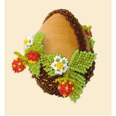 Набор для бисероплетения Яйцо пасхальное-2, 6х4, Риолис