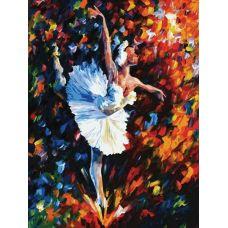 Раскраска Танец души, Л. Афремов, 60x80, Белоснежка