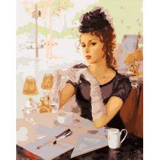 Раскраска В парижском кафе, К. Разумов, 40x50, Белоснежка
