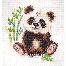 Вышивка Панда, 9x10, Алиса