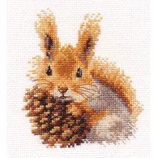 Вышивка Белочка, 11x12, Алиса