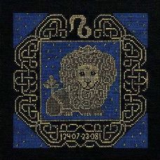 Набор для вышивания Лев, 25x25, Риолис, Сотвори сама
