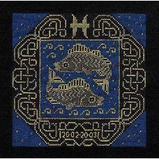 Набор для вышивания Рыбы, 25x25, Риолис, Сотвори сама
