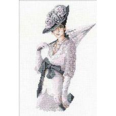 Набор для вышивания Мисс элегантность, 21x30, Риолис, Сотвори сама