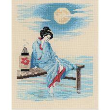 Набор для вышивания Светлая луна, 24x30, Риолис, Сотвори сама