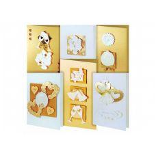 Набор для создания 6-ти открыток Любовь, Белоснежка