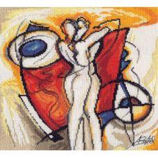 Вышивка Разжигай страсть, 25x25, Алиса