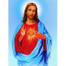 Стразы Иисус. Частичная выкладка, 57*71, Leisuretime
