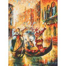 Раскраска Венецианская гондола, Л. Афремов, 60x80, Белоснежка