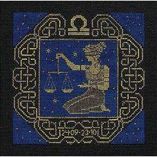 Набор для вышивания Весы, 25x25, Риолис, Сотвори сама