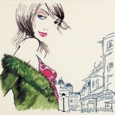 Набор для вышивания Парижанка №2, 42x40, Овен