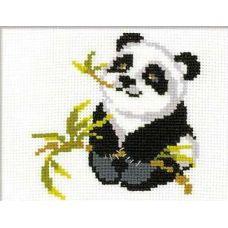 Набор для вышивания Панда, 18x15, Риолис Веселая пчёлка