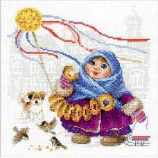 Набор для вышивания Масленица. Бублики, 25x25, Риолис, Сотвори сама