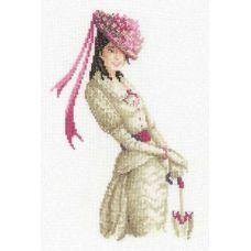 Набор для вышивания Мисс очарование, 21x30, Риолис, Сотвори сама