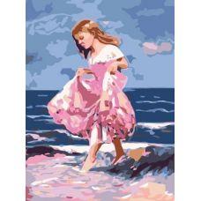 Раскраска Идущая по волнам, 30x40, Белоснежка