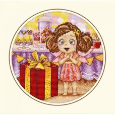 Набор для вышивания День рождения Алисы, 20x20, Овен