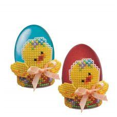 Набор для вышивания Подставка под яйцо Цыпленок, 6,5x6, Риолис, Сотвори сама
