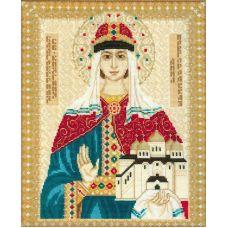 Набор для вышивания Святая Анна Новгородская, 29x35, Риолис, Сотвори сама