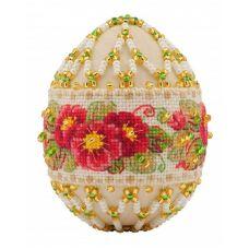 Набор для бисероплетения Яйцо. Примула, 6х4,5, Риолис