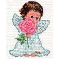 Вышивка Ангелок любви, 10x14, Алиса