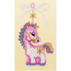 Набор для бисероплетения Брелок Волшебная лошадка, 5х6,5, Риолис