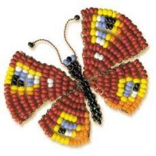Набор для бисероплетения Игрушка Бабочка, 5х4, Риолис