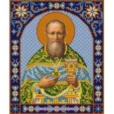 Ткань для вышивания бисером Святой Иоанн, 20х25, Конек