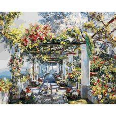 Раскраска Павлины на прогулке, 40x50, Белоснежка