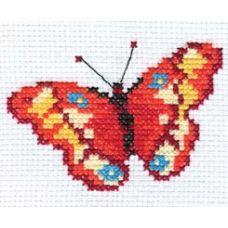 Вышивка Бабочка, 10x7, Алиса
