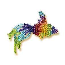 Набор для бисероплетения Игрушка Рыбка, 5х2,5, Риолис