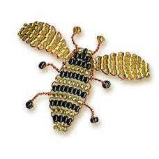 Набор для бисероплетения Игрушка Пчёлка, 3х4, Риолис