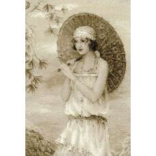 Набор для вышивания Старая фотография. Ривьера, 26x38, Риолис, Сотвори сама