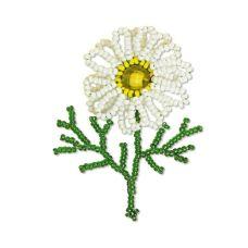 Набор для бисероплетения Цветы Ромашка, 7х4, Риолис