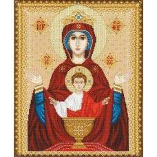 Набор для вышивания Богородица Неупиваемая Чаша, 29x35, Риолис, Сотвори сама